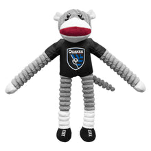 Load image into Gallery viewer, San Jose Earthquakes Team Sock Monkey Pet Toy