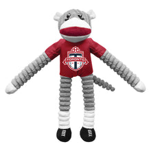 Load image into Gallery viewer, Toronto FC Team Sock Monkey Pet Toy