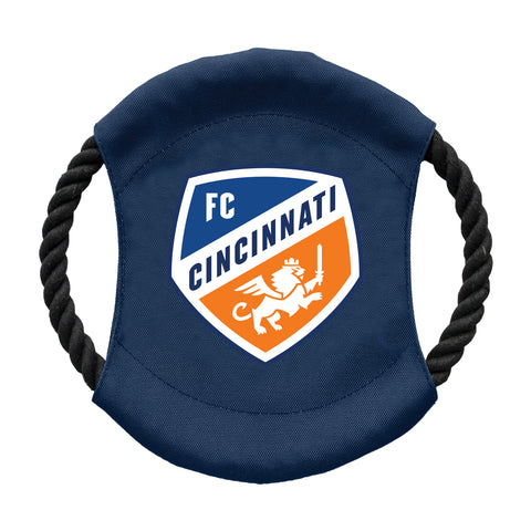 FC Cincinnati Team Flying Disc Pet Toy