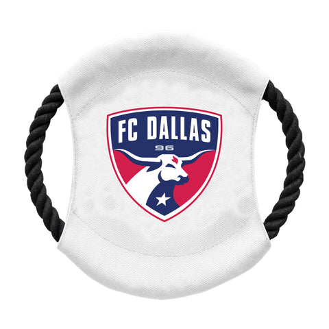 FC Dallas Team Flying Disc Pet Toy