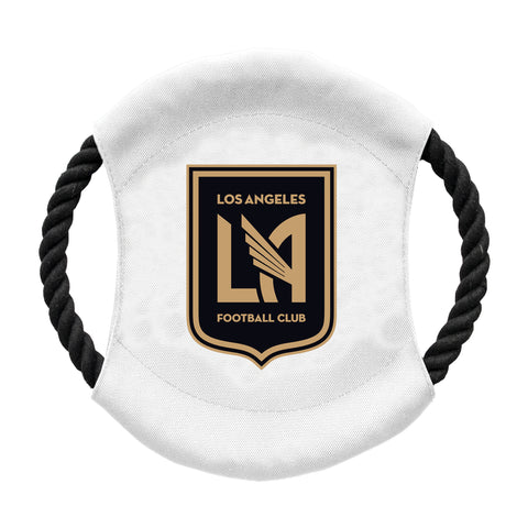 Los Angeles Football Club Team Flying Disc Pet Toy