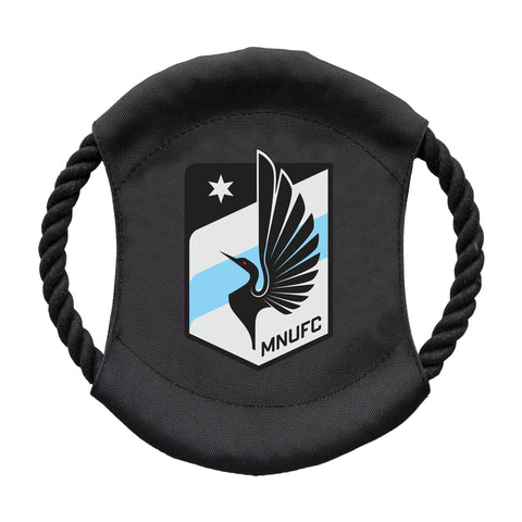 Minnesota United FC Team Flying Disc Pet Toy
