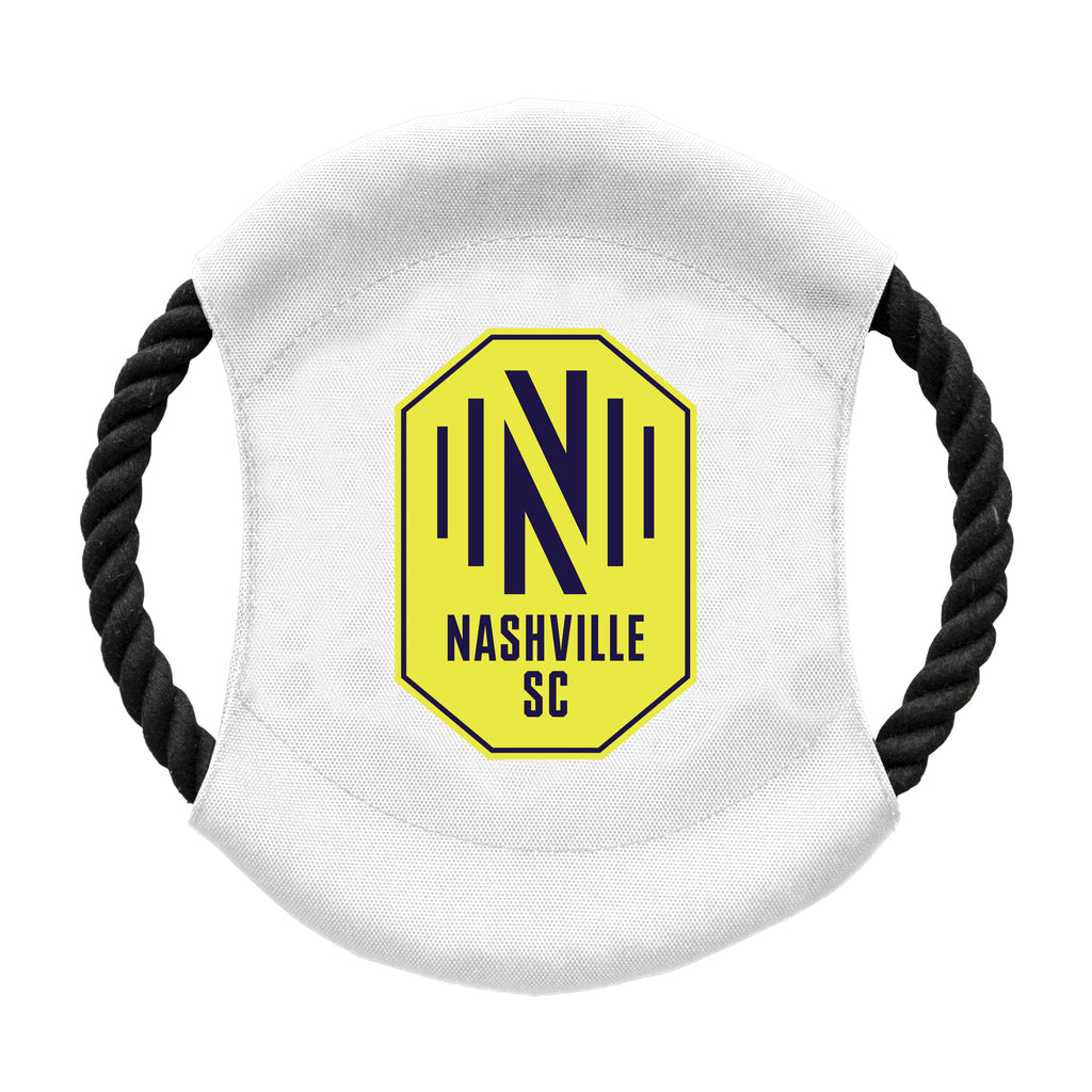 Nashville Soccer Club Team Flying Disc Pet Toy