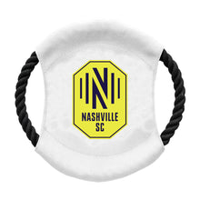 Load image into Gallery viewer, Nashville Soccer Club Team Flying Disc Pet Toy