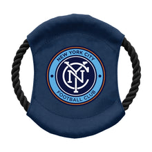 Load image into Gallery viewer, New York City FC Team Flying Disc Pet Toy