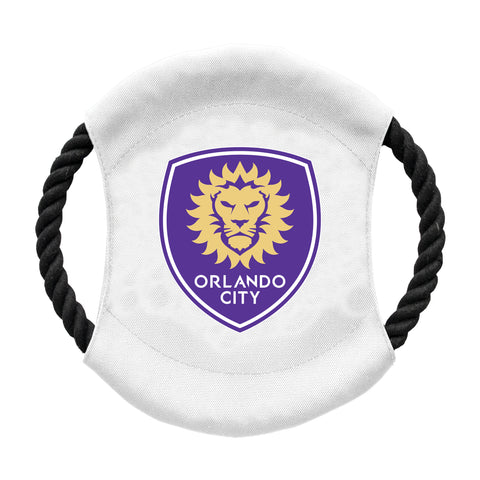 Orlando City SC Team Flying Disc Pet Toy