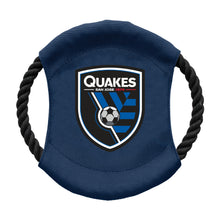 Load image into Gallery viewer, San Jose Earthquakes Team Flying Disc Pet Toy