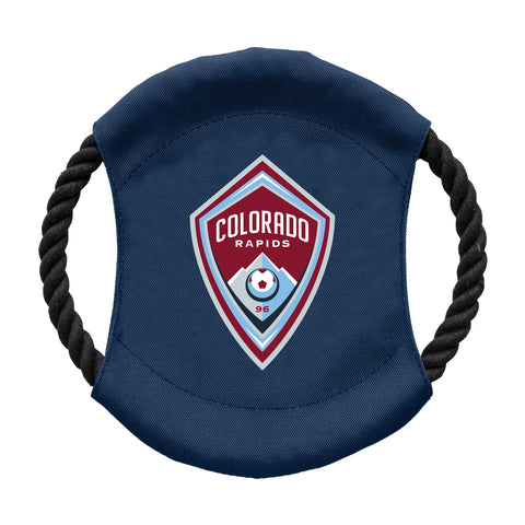 Colorado Rapids Team Flying Disc Pet Toy