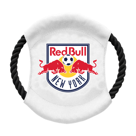 New York Red Bulls Team Flying Disc Pet Toy