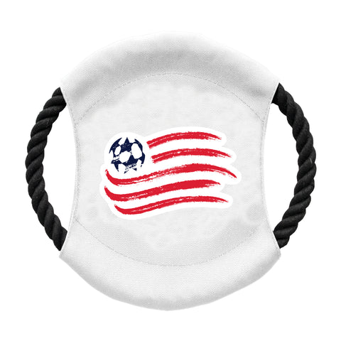 New England Revolution Team Flying Disc Pet Toy