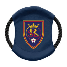 Load image into Gallery viewer, Real Salt Lake Team Flying Disc Pet Toy