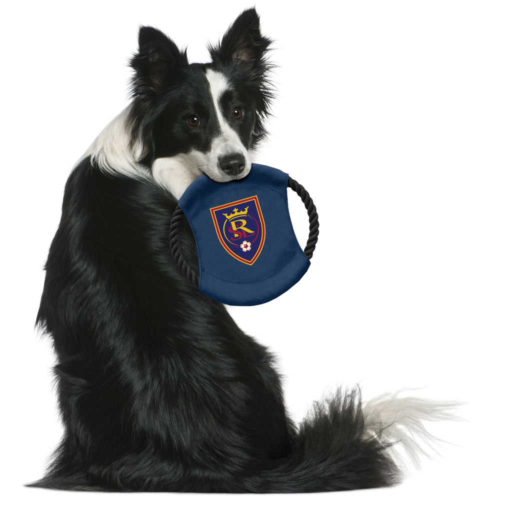 Real Salt Lake Team Flying Disc Pet Toy