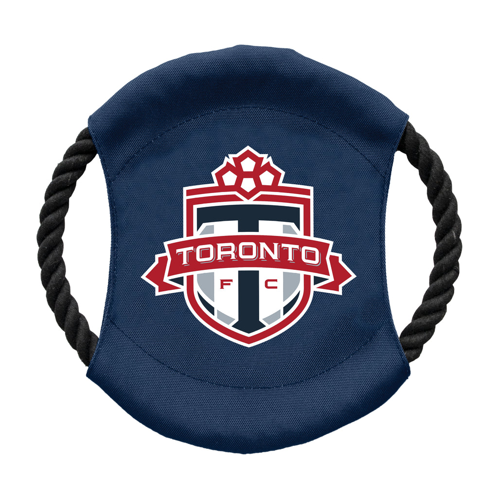 Toronto FC Team Flying Disc Pet Toy