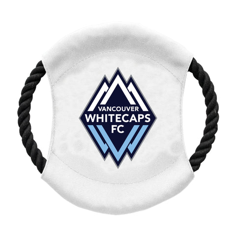 Vancouver White Caps FC Team Flying Disc Pet Toy