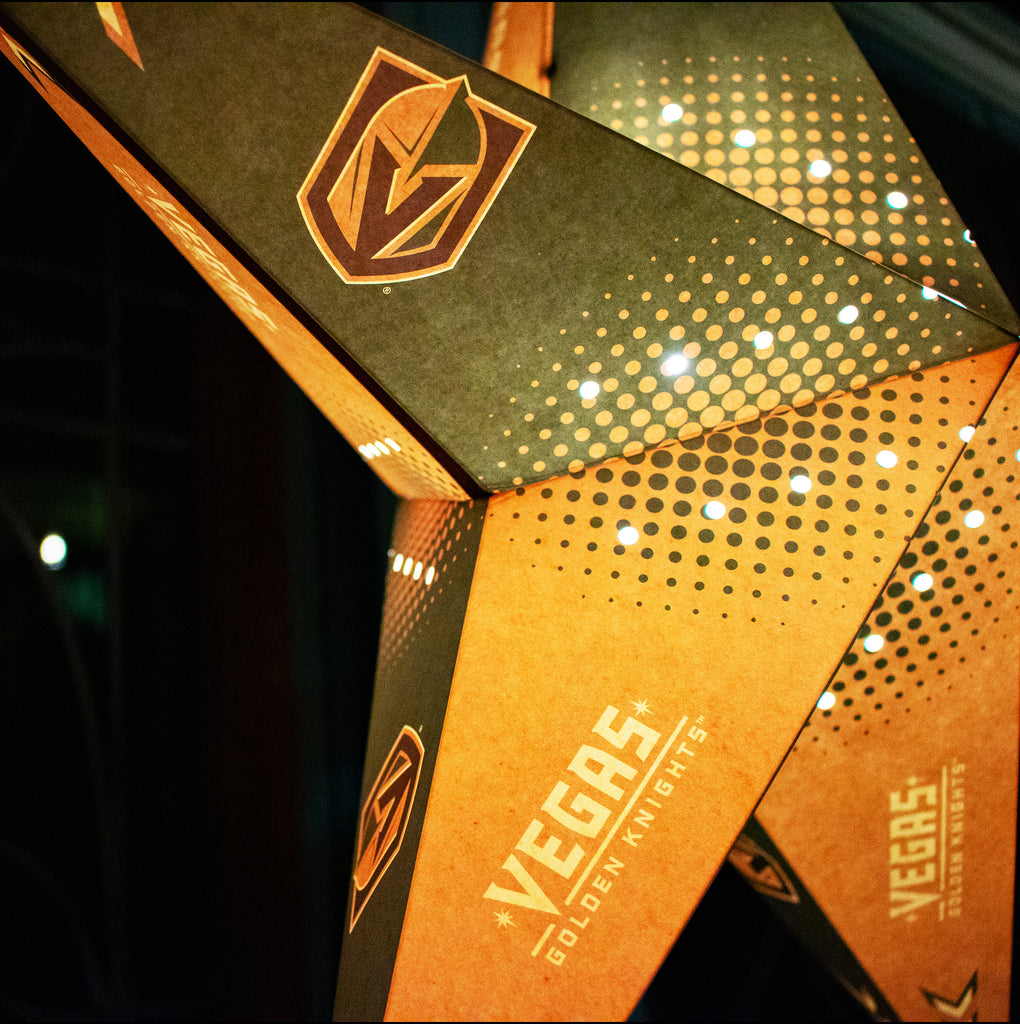 Vegas Golden Knights Star Lantern