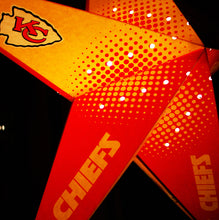 Load image into Gallery viewer, Kansas City Chiefs Star Lantern
