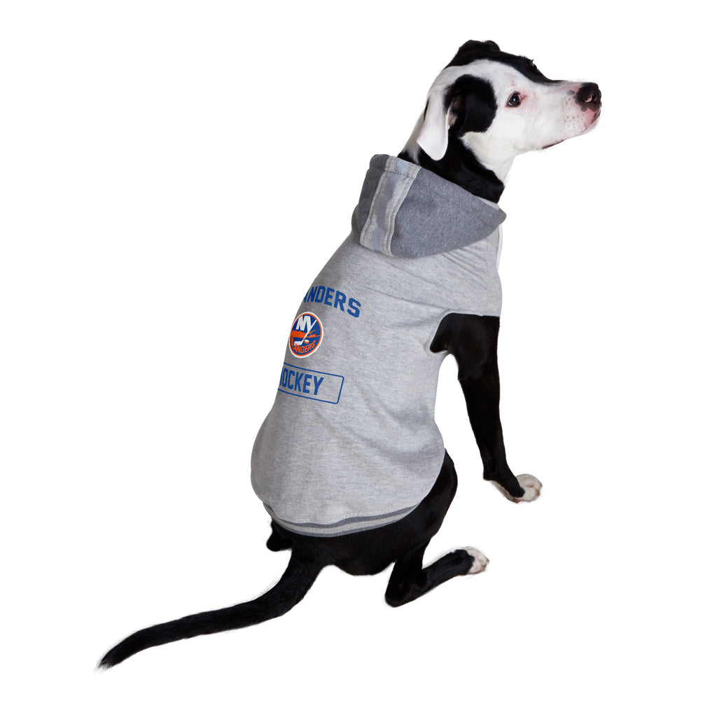 New York Islanders Pet Hooded Crewneck Type