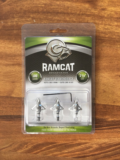 Ramcat Diamondback Broadheads