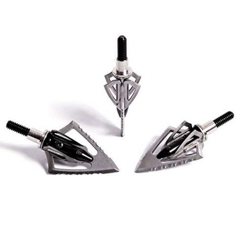 Carbon Express XT Dual Blade Broadheads with Field Points