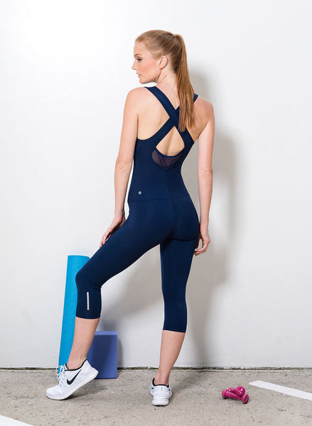 Rising Strong Bodysuit / Navy