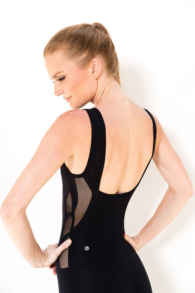 Free Spirit Bodysuit / Black