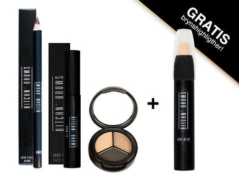 Essential Brow Kit + BB highlighter
