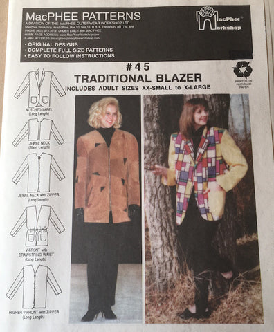 #45 TRADITIONAL BLAZER