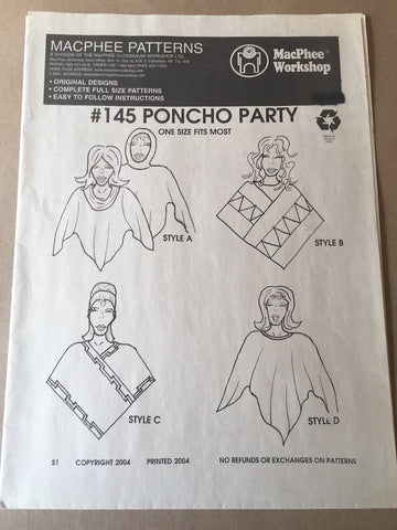 #145 PONCHO PARTY