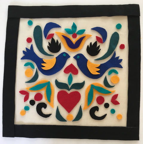 #873 FOLK ART APPLIQUE