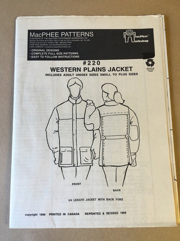#220 WESTERN PLAINS JACKET