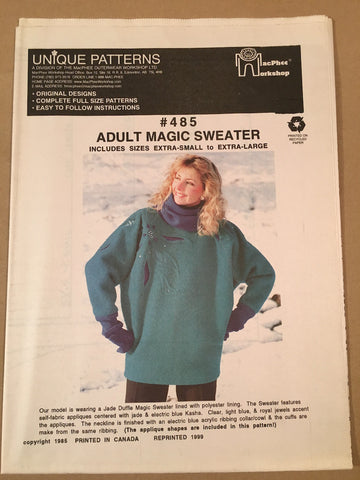 #485 MAGIC SWEATER