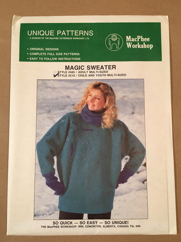 #510 MAGIC SWEATER CHILDREN/YOUTH
