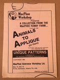 #856 ANIMALS TO APPLIQUE