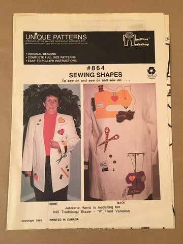 #864 SEWING SHAPES