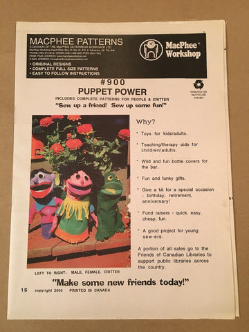 #900 PUPPET POWER