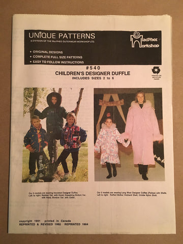 #540 CHILD DESIGNER DUFFLE