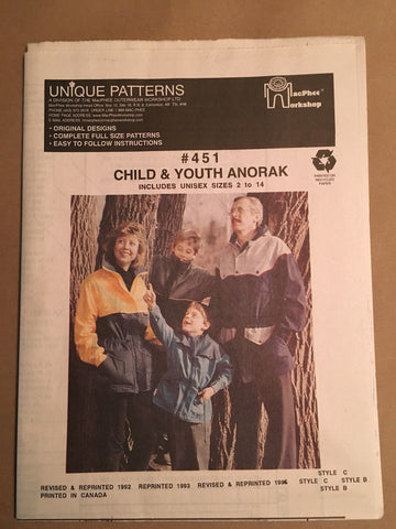 #451 ANORAK-Child and Youth