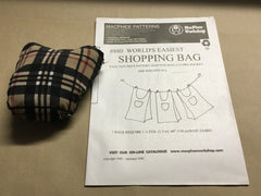 Worlds Easiest Shopping Bag Kit (2 bag kit - Special offer)