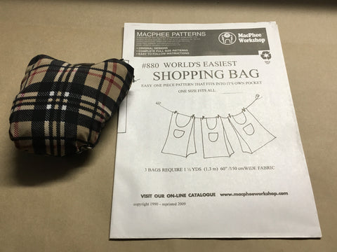 Worlds Easiest Shopping Bag Kit - on sale limited time only!
