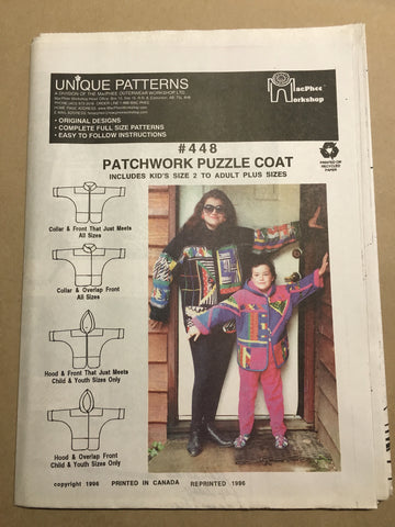 #448 PATCHWORK PUZZLE COAT