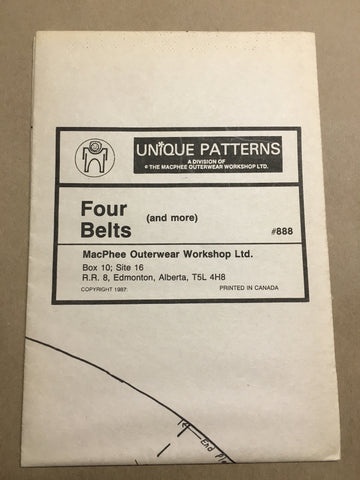 #888 FOUR BELTS (AND MORE)