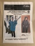 #206 & #207 WORLD'S EASIEST PARKA/PARKOVER - SPECIAL OFFER