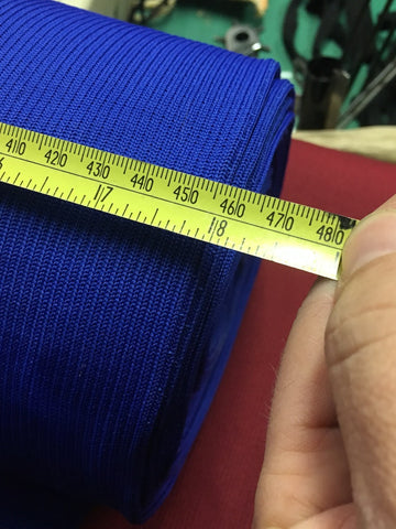 HEAVYWEIGHT NYLON RIBBING - ROYAL BLUE