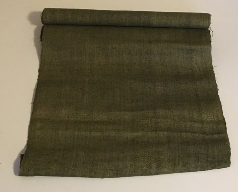 Army Green - Hemp Fabric