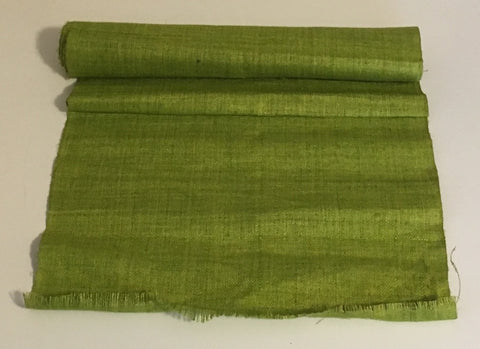 Lime Green - Hemp Fabric