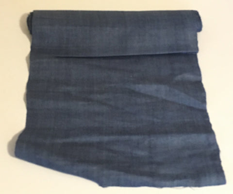 Steel Blue - Hemp Fabric