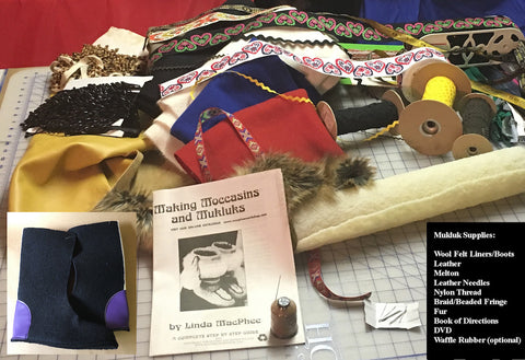 #901 MAKING MOCCASINS AND MUKLUKS BY LINDA MACPHEE