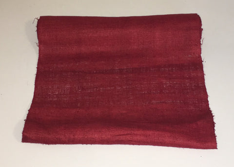 Red Hemp Fabric