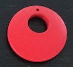 Red Small Flat Beads