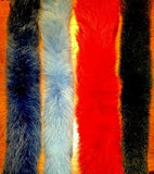 Dyed Fox Fur